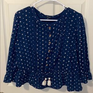 Lucky brand baby doll top